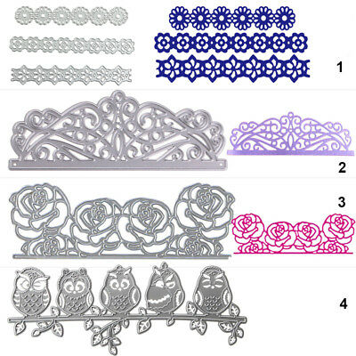 Lace Metal Cutting Dies Stencil DIY Scrapbooking Album Paper Card Embossing Gift