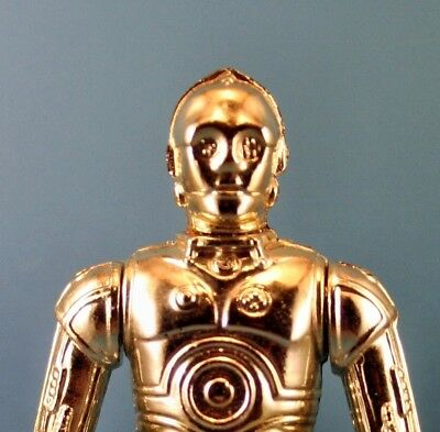 Star Wars Vintage Figur C-3PO Removable Limbs Top Zustand Hong Kong COO