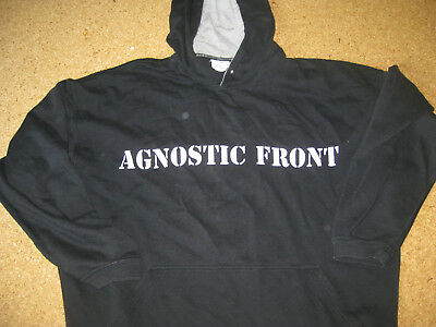Agnostic Front Hoodie OG 97 Madball Biohazard Warzone GBGB Cause for Alarm HC