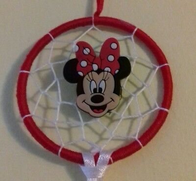 Dream catcher with minnie mouse pendant, gift, xmas gift