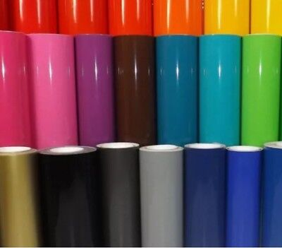"""3 rolls - 12"""" x 5 ft each - DuraGloss 651 Vinyl - Pick your Colors- craft decal"""