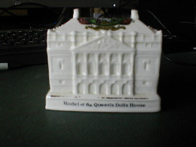 ARCADIAN CRESTED of Queen Mary's Dolls house shown at Empire Exhibition 1924