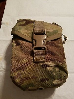 US Military Issue Army SEKRI Multicam MOLLE IFAK II Pouch with Insert First Aid