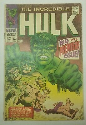 The incredible Hulk #102 key issue wow!