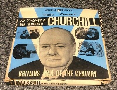 A Tribute To Sir Winston Churchill 8Mm Home Movie