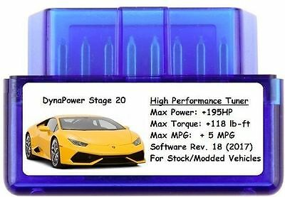 Stage 20 Tuner Chip Power Performance [ Add 195 HP/5 MPG ]  Ford