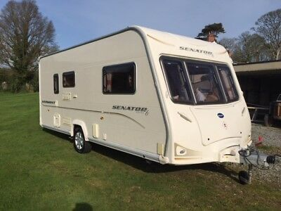 2007 Bailey Senator Vermont Series 6 Luxury Rear Shower En Suite Alco Stabiliser