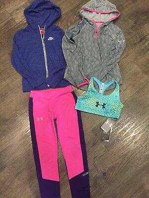 Nike/Under Armour Girls Youth Medium Lot