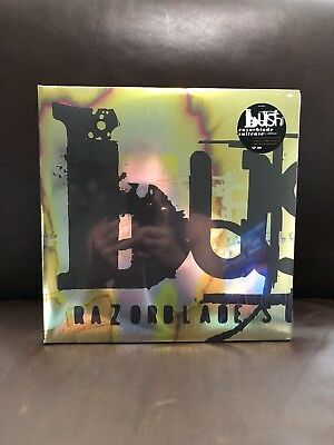 Bush-Razorblade Suitcase [2LP] Limited Swirled Colored Vinyl Poster Bonus tracks
