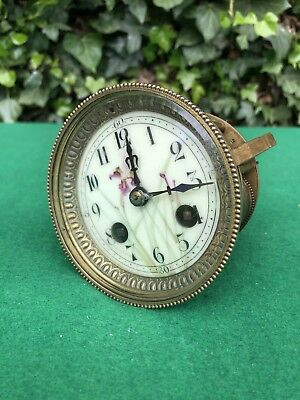 Antique French E. Varon Clock Movement Spares/Repair