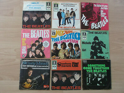 The Beatles / 9 Singles !!!