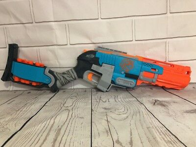 Nerf Sledgefire Zombie Strike Series Blaster With 3 Shells Cosplay Prop