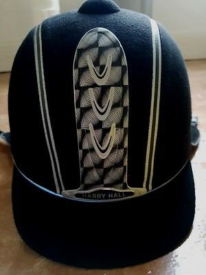 harry hall childrens riding hat size53 / 61/2