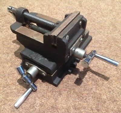 Engineers Drill Press Clamp Adjustable Milling Table Heavy Duty Machinist Tools
