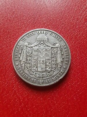 1841 silver germany Prussia 2 thaler