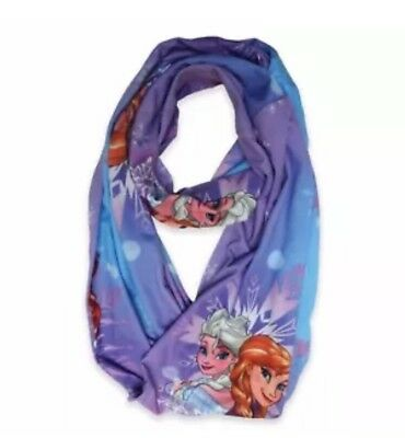 """Disney """"Frozen"""" Infinity Scarf Blue and Purple New"""