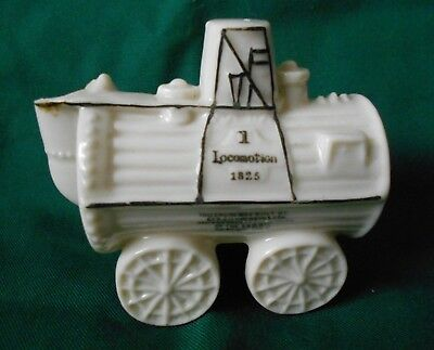 Rare Carlton China Crested Ware Stoke On Trent' Locomotion 1 Stephenson's Rocket