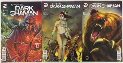 Grimm Fairy Tales presents Dark Shaman #1,3 & 4 (Zenescope 2014) 3 issues