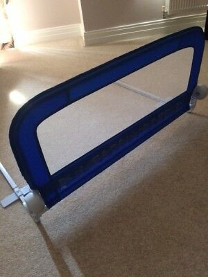 Mothercare Blue Soft Folding Bed Guard, Good Condition. Smoke/Pet free house.