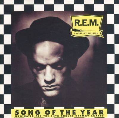 "R.E.M.: Losing My Religion (1992) 7"" Single -- Limited Edition Song Of The Year"