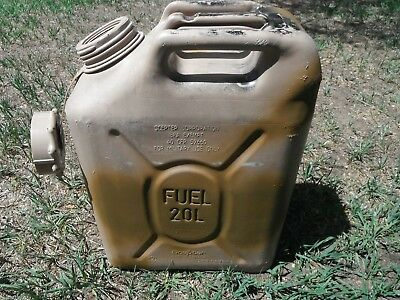SCEPTER Sahara Sand Tan Jerry Gas Can Fuel Military MFC 5 gal 20L JEEP US ARMY