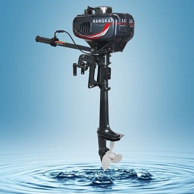 3.5HP Outboard Motor Two Stroke Boat Engine Water Cooled Raft