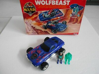 M.A.S.K Mask Wolfbeast + Miles Mayhem  Action Figur Kenner TOP RARE