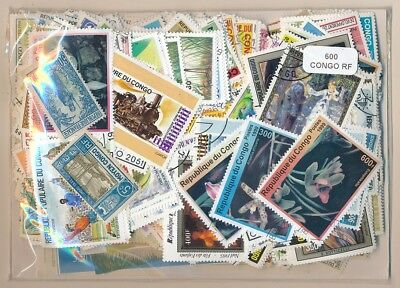 Congo Frances US 600 stamps different