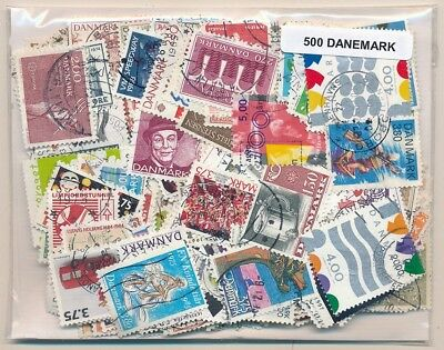 Denmark US 500 stamps different