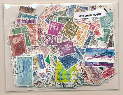 Denmark US 600 stamps different