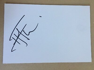 Hame Faiva - New Zealand Rugby Player Signed 6x4 Card