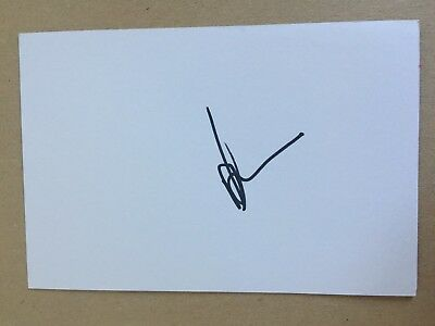 Monty Ioane - New Zealand Rugby Player Signed 6x4 Card