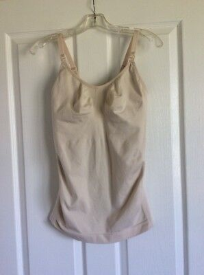 Cake Lingerie M Light Nude Stretch Nursing Tank/ Camisole 40-800