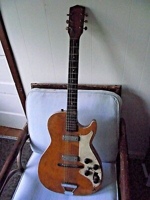 Vintage...no Name...electric Guitar...project.
