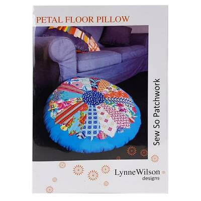 Petal Floor Pillow Pattern by Lynne Wilson Designs Quilting Sewing