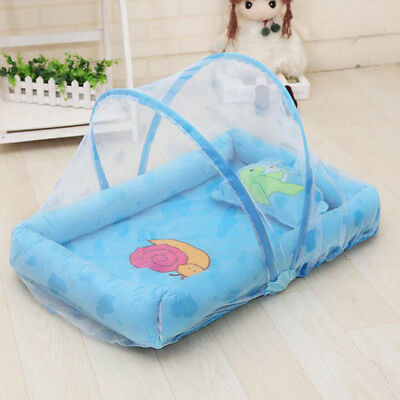 Baby Mosquito Net Bed Net Padded Mattress Pillow Tent Yurt  Foldable Portable