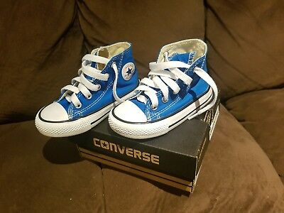 Converse All Star Hi-tops Toddler Shoe Size 6
