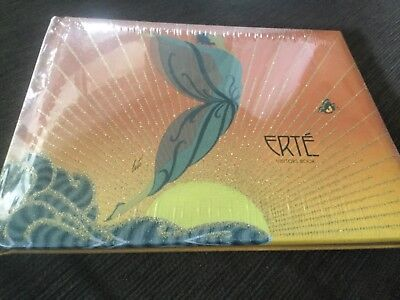 ERTE VISITORS BOOK NWOT surplus to need 25 x 20 cm