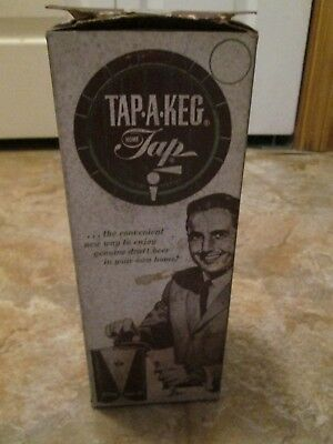 Vintage Tap A Keg in the box with instructions