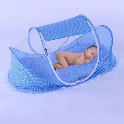 Baby Mosquito Yurt Bed Net Pillow Tent Foldable Portable Canopy Play Mesh Tent