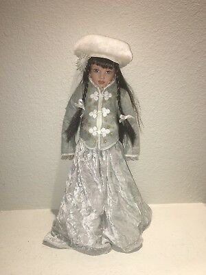 "Winter Doll by Helen Kish for White Balloon, 16"" Doll with Box,"