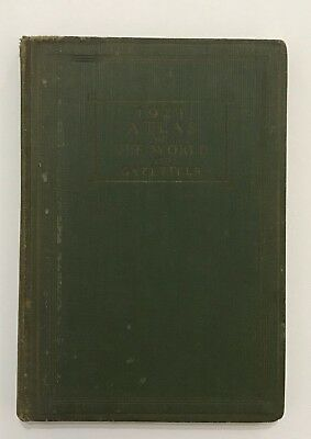1924 Atlas of the World and Gazetteer by Funk & Wagnalls Maps and Data