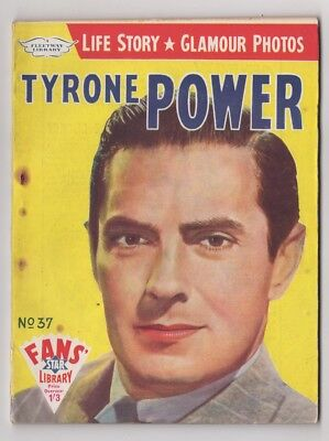 Original Fans' Star Library No 37 Magazine, Tyrone Power, 1959