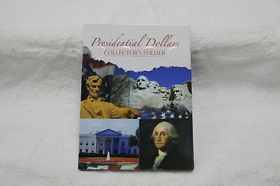 Complete Uncirculated Presidential dollar set 39 coins in Collectors Folder
