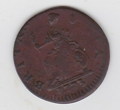 Great Britain Farthing 1773 George III.