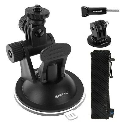 PULUZ Car Mount Holder Suction Cup Sucker Kit For GoPro HERO5/4/3 /3/2/1,PU51