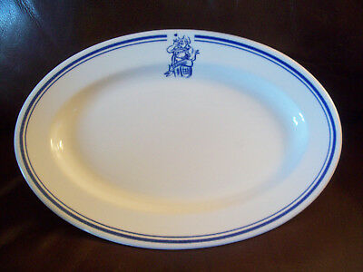 "Buffalo China platter Italian cook ""It's all about the food"" blue bands"