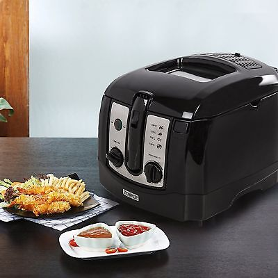 New Tower T17002 Easy Clean Deep Fat Fryer 2300w - 3Ltr - Black - Brand New