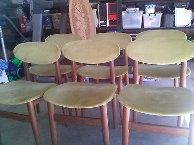 Retro Danish Parker Style Original Australia Made Vintage Dining Chairs