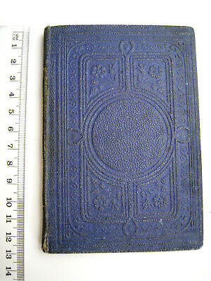"Vintage Book "" TRUST IN GOD"" or ""Jenny's Trials"" 1868 Inscription T Nelson & Son"